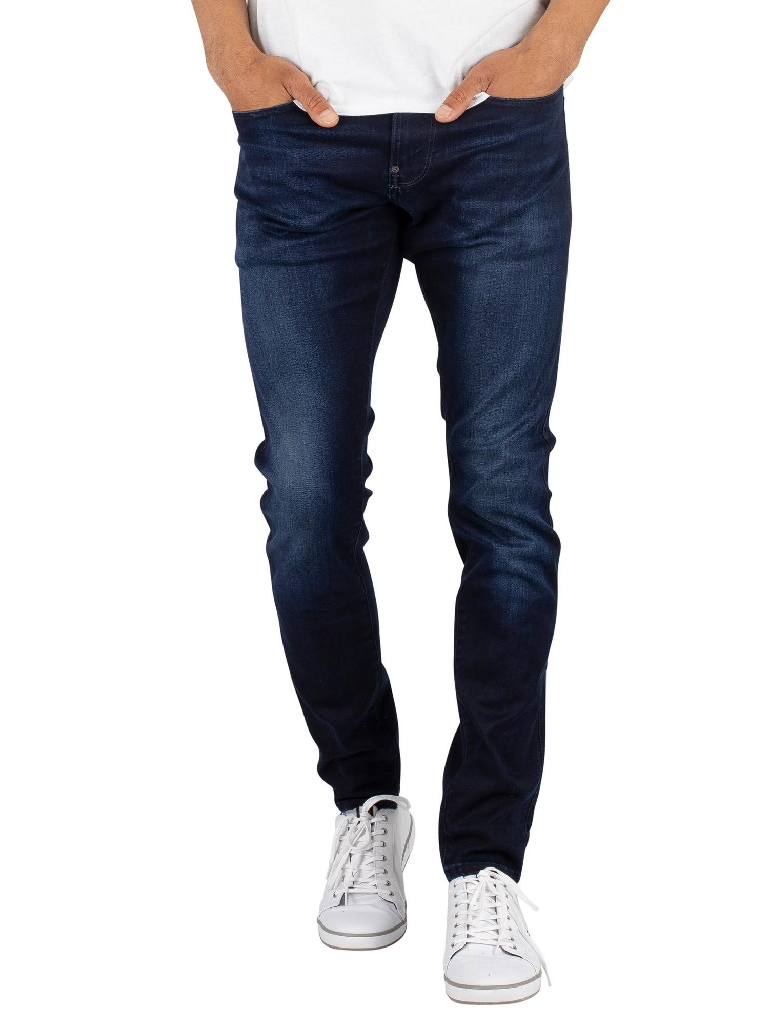 428b8522d81 G-Star Dark Aged Revend Super Slim Superstretch Jeans