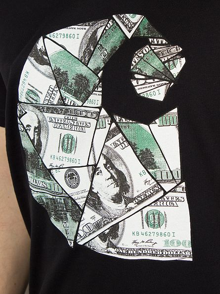 Carhartt WIP Black/Multicolour Bill C T-Shirt