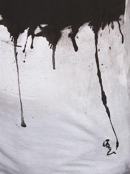 Religion White Drip Tastic Crew Neck T-Shirt