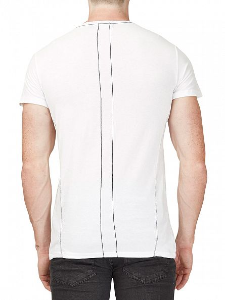 Religion White Bad Boys Crew Neck T-Shirt