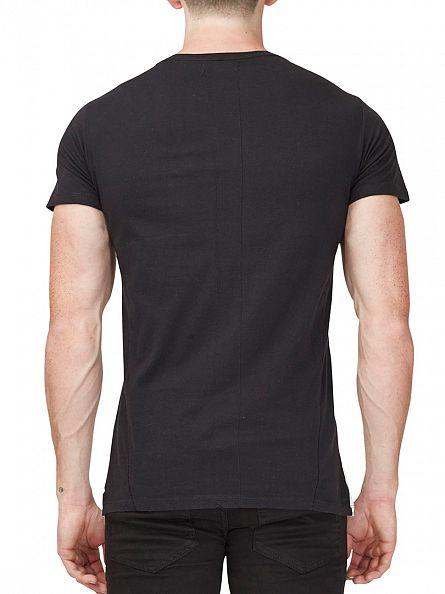 Religion White/Black Double Trouble Crew Neck T-Shirt