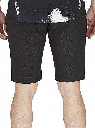 Religion Navy Raey Shorts