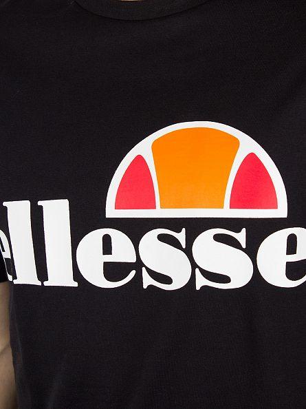 Ellesse Anthracite/Black Manarola T-Shirt