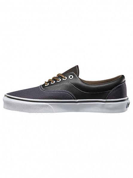 Vans Asphalt/Beluga Era Leather Trainers