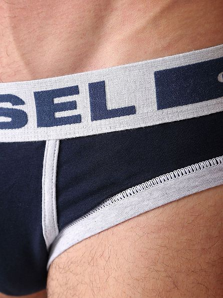 Diesel Navy Fresh & Bright Comfy Briefs