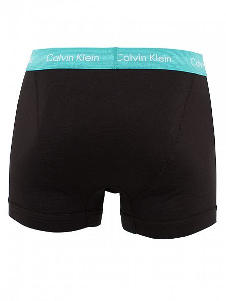 Calvin Klein Black 3 Pack Cotton Stretch Trunks