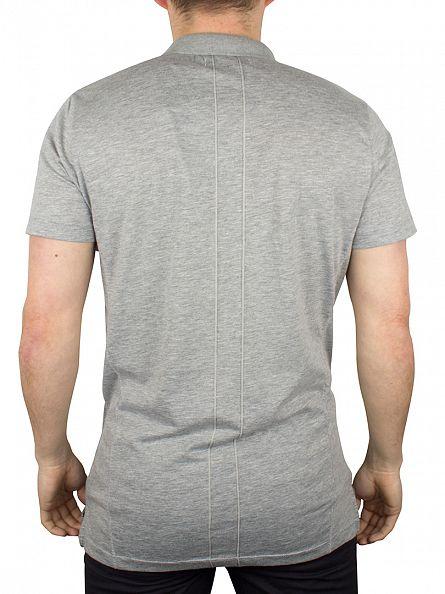 Religion Grey Roaring Polo Shirt