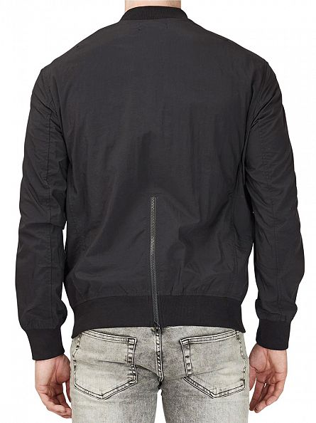 Religion Black/Dark Metal Orb Bomber Jacket