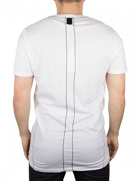 Religion White Harlem Crew Neck T-Shirt