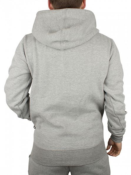 Ellesse Athletic Grey Porana Over Head Hoodie