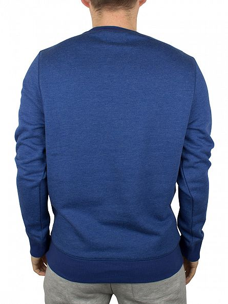 Converse Royal Blue Worn All Star Logo Sweatshirt