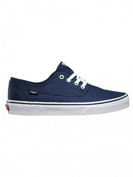 Vans Dress Blues/True White Brigata Trainers