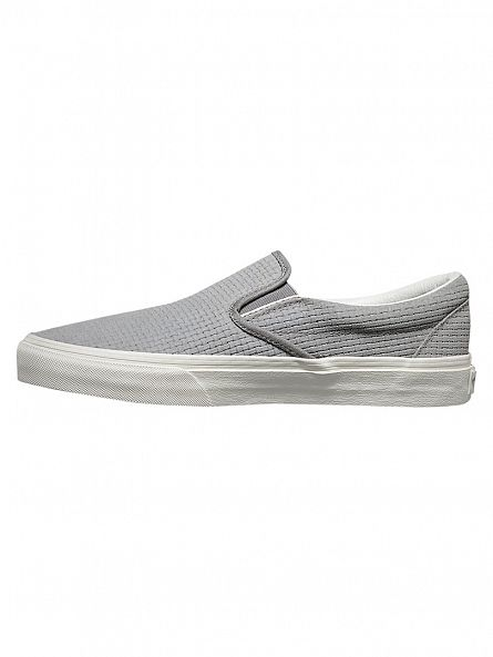 Vans Wild Dove Classic Slip On Braided Suede Trainers