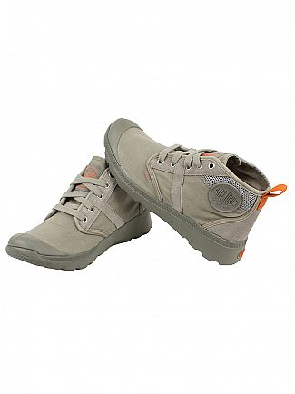 Palladium Concrete/Burnt Orange Pallaville HI CMS Trainers