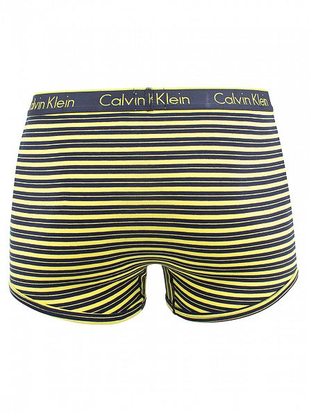 Calvin Klein Solar Yellow CK One Rick Stripe Trunks