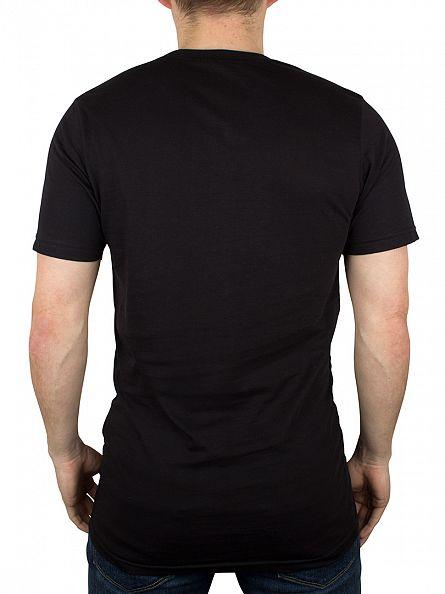Hype Black/Grey Script Logo T-Shirt