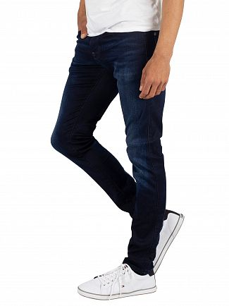 G-Star Dark Aged Revend Skinny Superstretch Jeans