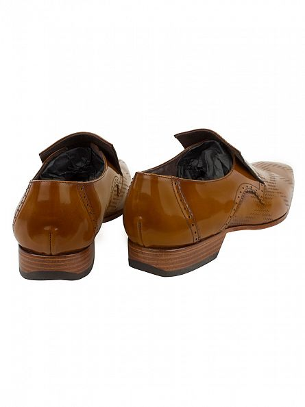 Jeffery West Honey College Leather Shoes