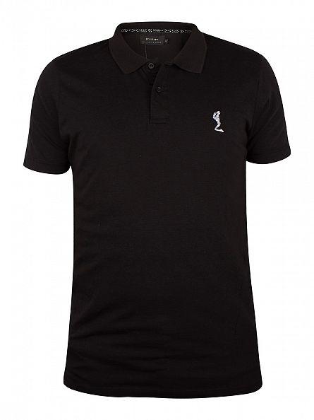 Religion Black Roaring Polo Shirt