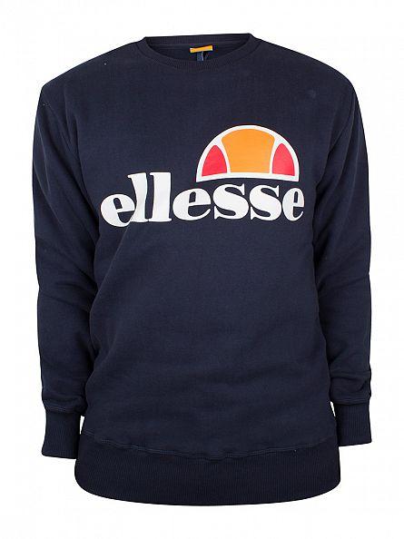 Ellesse Dress Blue Montone Crew Neck Sweatshirt