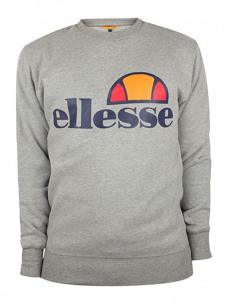 Ellesse Athletic Grey Montone Crew Neck Sweatshirt