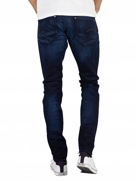 G-Star Dark Aged Revend Super Slim Superstretch Jeans