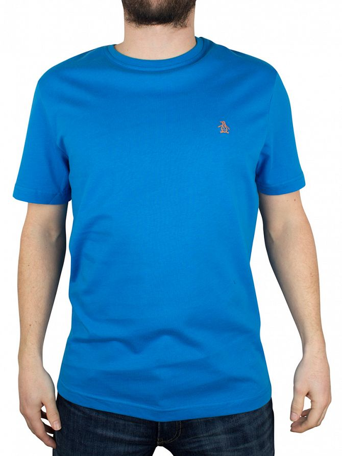 Original Penguin Directoire Blue Pin Point Logo T-Shirt