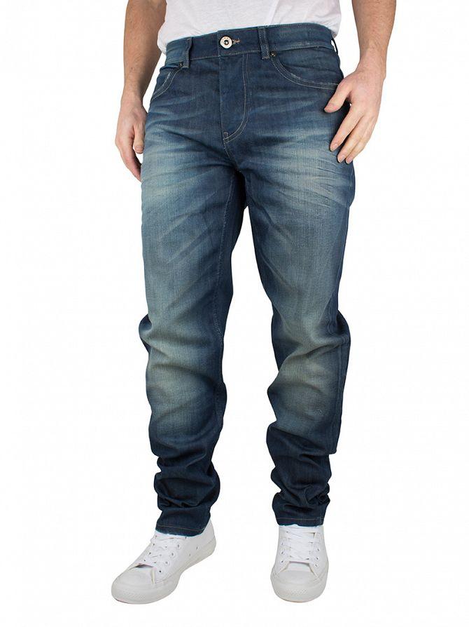 Foray Blue Stanton Regular Fit Jeans