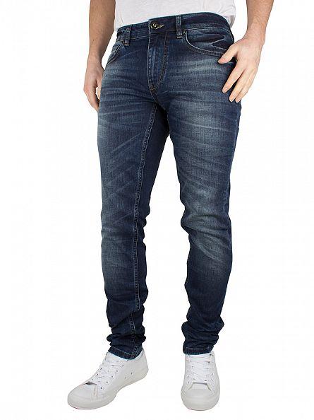Foray Medium Blue Dakota Slim Fit Jeans