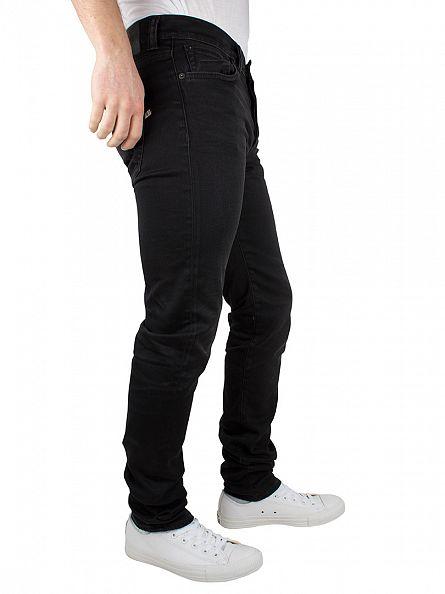 Edwin Black ED-80 Slim Tapered Coal Wash Jeans