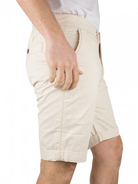 Bellfield Stone Basic Chino Shorts