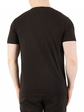 Nicce London Black Chest Logo T-Shirt