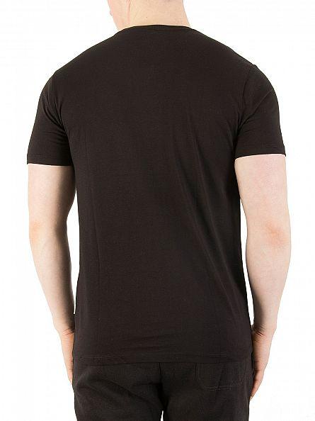 Nicce London Black Chest Logo T-Shirt