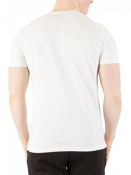 Nicce London White Chest Logo T-Shirt