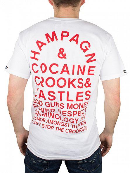 Crooks & Castles White Legacy Graphic T-Shirt