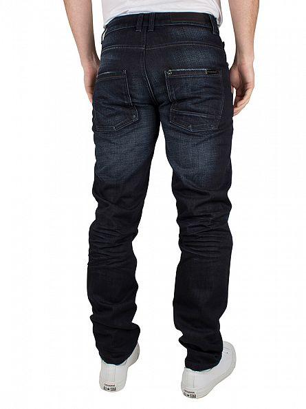 Foray Dark Blue Delaware Regular Fit Jeans