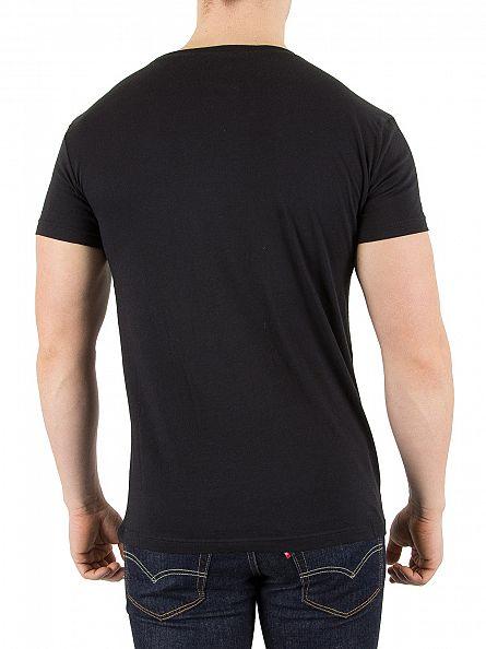 Gant Black 2 Pack Logo T-Shirts