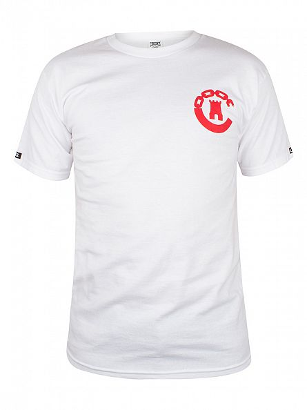 Crooks & Castles White Legacy Graphic T-Shirt
