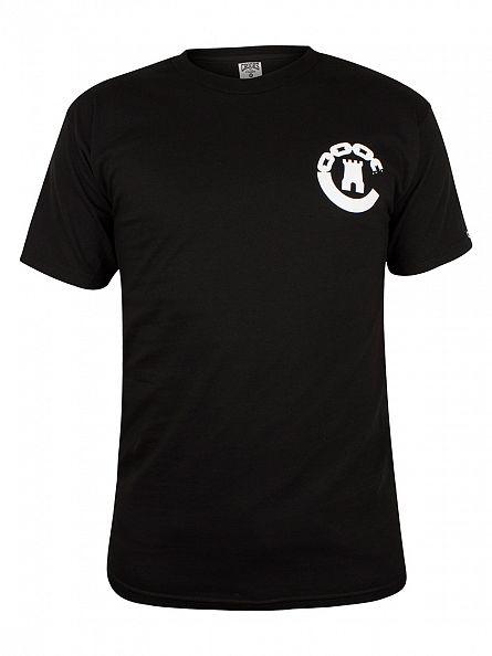 Crooks & Castles Black Legacy Graphic T-Shirt