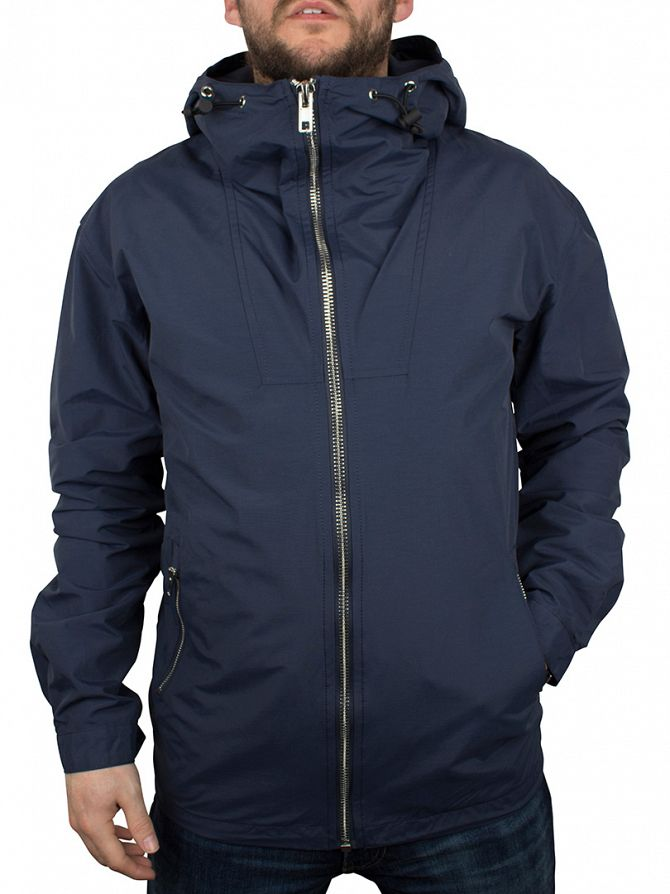 Minimum Dark Iris Sender Trail Hooded Zip Jacket