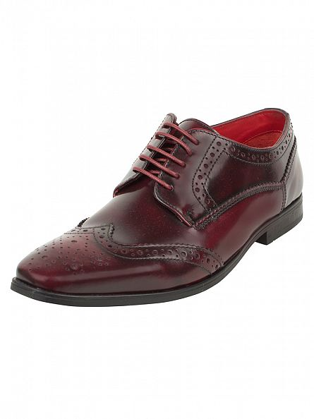 Base London Bordo Harold Hi Shine Shoes