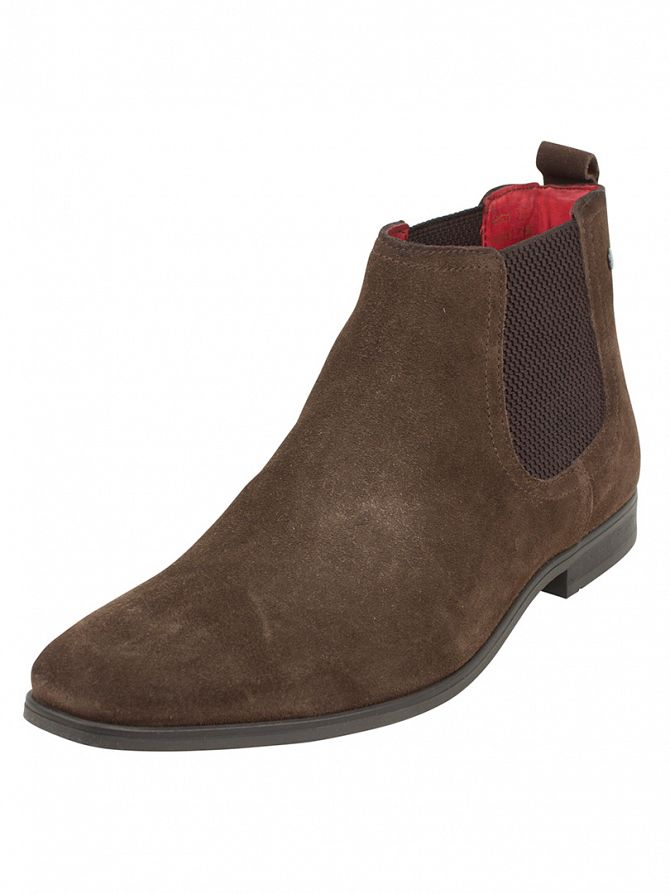 Base London Brown William Chelsea Boots