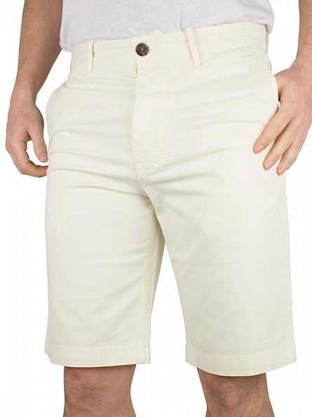 Edwin Natural Enzyme Washed Rail Sateen Stretch Chino Shorts