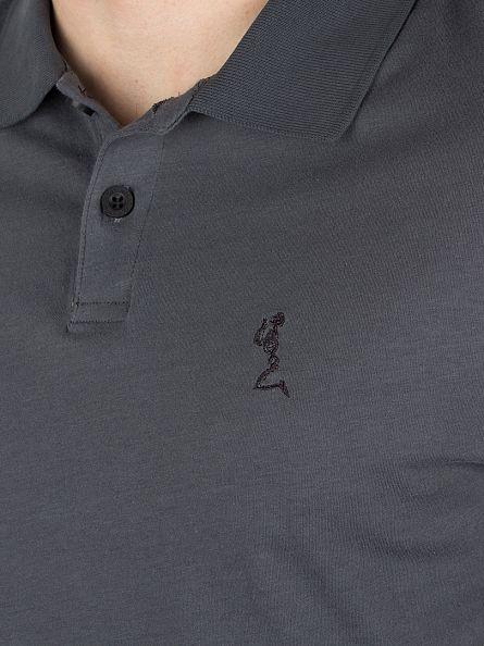 Religion Dark Metal Roaring Logo Polo Shirt