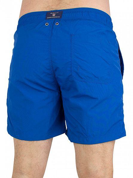Gant Ocean Blue Classic Logo Swim Shorts