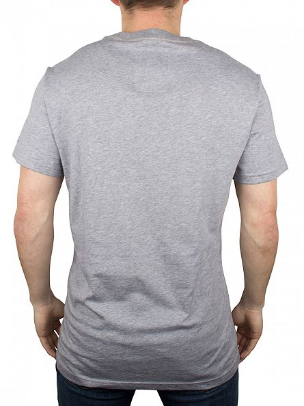 G-Star Grey Heather Beamrac Graphic Logo T-Shirt