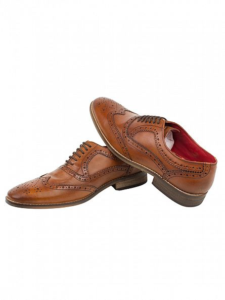 Base London Washed Tan Surrey Shoes