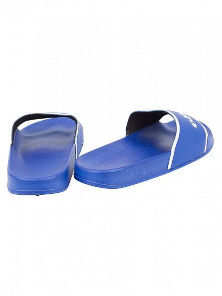 Ellesse Blue/White Fillipo Logo Slider Flip Flops