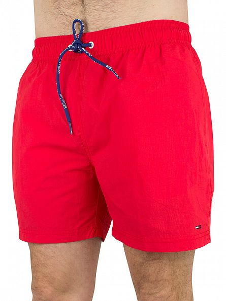 Hilfiger Denim Tomato Solid Logo Swim Shorts