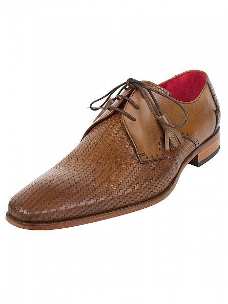 Jeffery West Kenda Tan Scarface Kenda Shoes